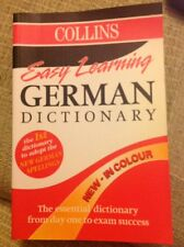Easy Learning German Dictionary - Collins - Softback