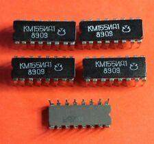 KM155ID1 = SN74141 IC / Microchip USSR  Lot of 4 pcs