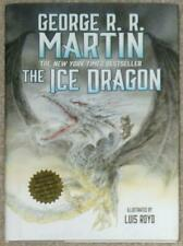 ICE DRAGON ~ GEORGE RR MARTIN ~ ILLUSTRATED LUIS ROYO ~ 1st PRINTING + POSTER