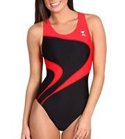 TYR Alliance T Splice Maxback One Piece Swimsuit Women's Size 30 7101