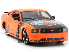 MAISTO 1:24 32169 2006 FORD MUSTANG GT HARLEY DAVIDSON NEW DIECAST MODEL ORANGE
