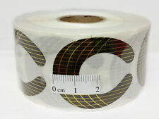 C - CURVE Acrylic Nail Form - Medium (# NF-DM) - 500 pieces