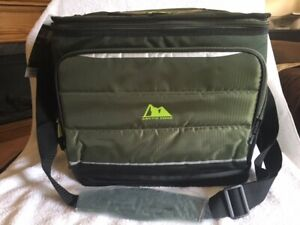 ARCTIC ZONE 36 CAN COLLAPSIBLE COOLER WITH EASY ACCESS AND MICROBAN-GREEN-BNWT