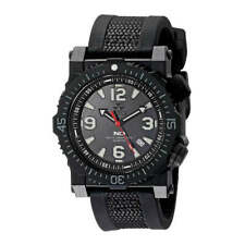 Reactor Men's Watch Titan Quartz Black Dial Nylon and Rubber Strap 43801