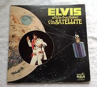 Vtg. '72 Elvis Presley-Aloha From Hawaii via Satellite 2 Record Set/ CPD2-2642