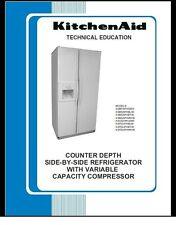 Repair Manual: Kitchenaid REFRIGERATORS (choice of 1)