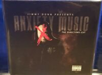 Jimmy Donn - Anxiety Music The Director's Cut CD SEALED horrorcore rap