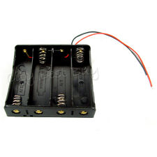 """30 x Battery Holder Case box for 4 18650 Li-ion battery w/ 6"""" Wire Lead"""