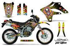 KAWASAKI KLX 250 Graphic Kit AMR Racing # Plates Decal Sticker Part 04-07 EDPY