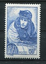 FRANCE 1940 GEORGES GUYNEMER WWI PILOT MNH Stamp