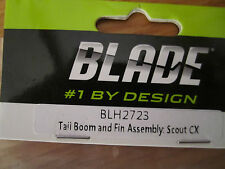 BLADE TAIL BOOM AND FIN ASSEMBLY: SCOUT CX BLH2723