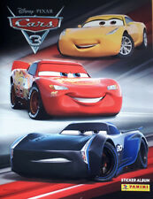 PANINI DISNEY CARS 3, LOT de 10 AUTOCOLLANTS à choisir