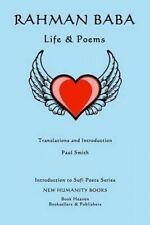 NEW Rahman Baba: Life & Poems (Introduction to Sufi Poets Series) (Volume 35)