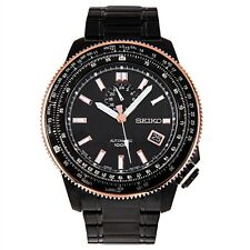 SEIKO Superior SSA008 SSA008J1 Automatic Black Dial 100m Watch Made In Japan