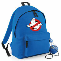 GHOSTBUSTERS LOGO BACKPACK, INSPIRED SCHOOL & COLLEGE SPORTS GIFT CHILDREN BAG