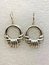 "Sterling Silver .925 ~ 1 1/4"" x 2"" Hanging Earrings"