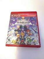 Kingdom Hearts HD 2.5 ReMIX (Sony PlayStation 3, 2014) Game & Case Fast Shipping