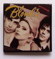 "BLONDIE DEBBIE HARRY EAT TO THE BEAT ORIGINAL 1979  2"" VTG ALBUM PROMO BADGE/PIN"