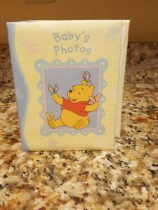 Disney Stepping Stones Winnie The Pooh Baby Photo Album Book-Hold 100 4x6 photos