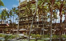 The Hawaiian Village Hotel at Waikiki 1960s Hawaii Postcard