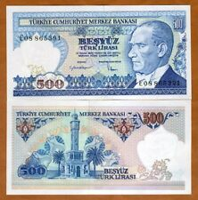 Turkey,  500 Lira, L. 1970 (1983) P-195, UNC