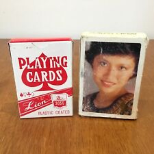 Lion & Vintage Singapore Airlines Playing Cards (2 Decks Total) #413
