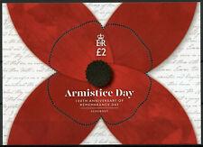 Alderney Stamps 2019 MNH WWI WW1 Armistice Remembrance Day Military War 1v M/S