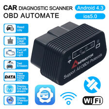 WIFI OBD2 Scanner Code Reader Automotive Diagnostic Tool Auto Car OBDII ELM327
