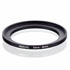 52-62 52mm to 62mm 52mm-62mm Matel Step-up Stepping Up Ring Filter Adapter