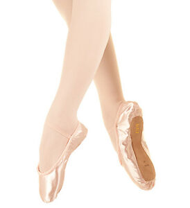 Bloch Debut SO232 pink satin ballet shoes C Fitting
