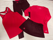 Adidas Women's climalite/climacool tennis clothing size Small (4 pieces!) EUC!