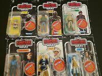Star wars retro collection wave 2 lot. Boba Fett, Yoda Luke, Han, Landon Leia