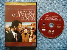 DEVINE QUI VIENT DINER EN DVD AVEC SIDNEY POITIER (ENVOI MONDIAL RELAY)