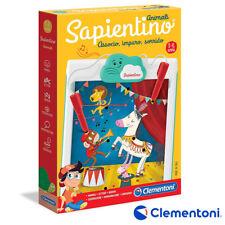 SAPIENTINO ANIMALI GIOCO EDUCATIVO PER BAMBINI 3-6 ANNI CLEMENTONI 16213