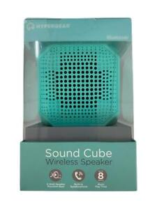 HyperGear Sound Cube Bluetooth Wireless Speaker With Build-in Mic Blue