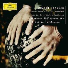 """Mozart: REQUIEM KV 626"""" CD - BRAUN, RUBENS, THIELEMANN - DG"""