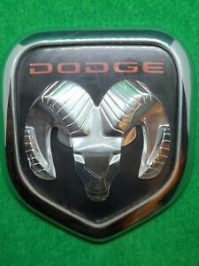 97 98 99 00 01 OEM DODGE RAM VAN HOOD EMBLEM  2 PINS P/N 55295241
