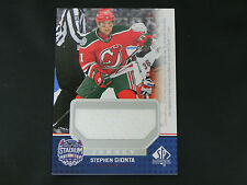 2014-15 SP Game Used Stadium Series Materials Jerseys Stephen Gionta Devils