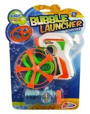 Grafix Aufblasbar Seifenblasen-pistole Ranger Spinner mit Lösung Garten