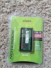 Kingston 512 MB PC2-4200 DDR2-400 Laptop Memory RAM Sodimm KVR533D2SO/512R