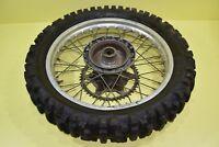 1984 CR500 CR 500 CR250 Rear Wheel Rim Tire Hub Spokes Rotor Assembly 18x2.15