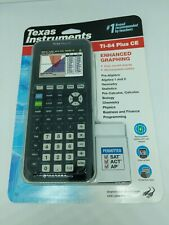 Texas Instruments TI84 Plus CE Graphing Calculator Black&Gray*FREE SHIPPING*NEW*