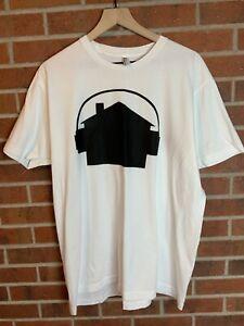 American Apparel Shirt W/ House T Shirt - Men's XL