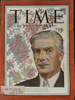 Vintage Time Magazine February 11 1952 On Cover Britain's Anthony Eden
