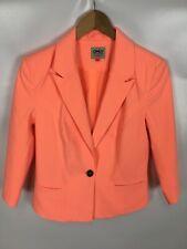 ONLY Blazer, orange neon, Größe 38