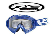 Lunette cross RC BLEU / Masque pour Motocross Dirt NEUF