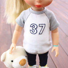Disney Baby Doll Clothes / 37 Raglan Tee / Animator's collection Princess 16inch