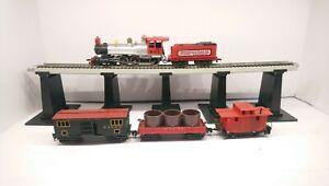 Tyco HO Train W&ARR 1890 Rogers Powered Steam Locomotive/Tender & Rolling Stock