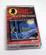 Edgar Wallace Hörspielkassette und der Fall der Drei Eichen - Um Mitternacht ...