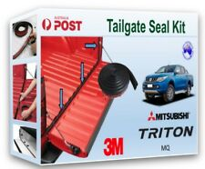 MITSUBISHI MQ TRITON 2015+  TAILGATE TAIL GATE RUBBER DUST SEAL KIT MQ NEW